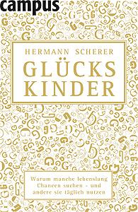Buchcover Hermann Scherer - Glückskinder