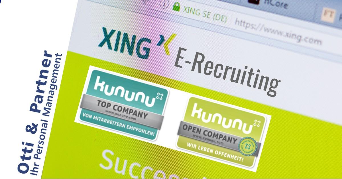 AUF JOBSUCHE? Folgen Sie uns auf XING – über 150 offene Positionen!