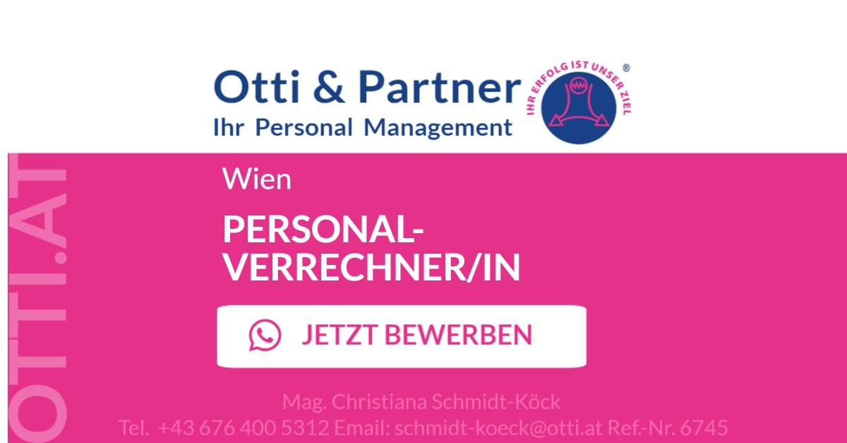 Wien: PERSONALVERRECHNER/IN Tochterunternehmen eines internationalen Großkonzerns aus der Gastronomiebranche