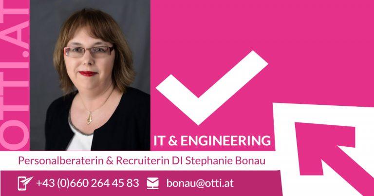 OTTI STELLT VOR: Personalberaterin & Recruiterin für IT & Engineering STEPHANIE BONAU