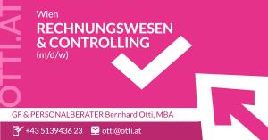 Wien: Rechnungswesen/Controlling
