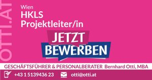 Wien: HKLS Projektleiter/in (m/w/d)