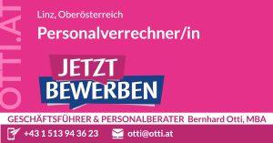 Oberösterreich: Personalverrechner (m/w/d)