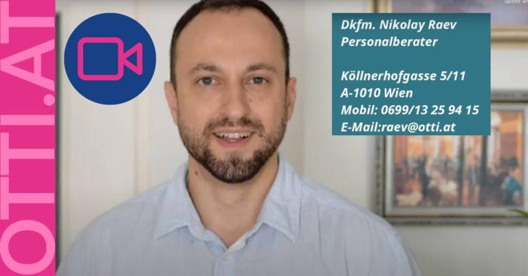 Als Vertriebsingenieur in einem sehr großen Industriekonzern tätig sein [Video by Nico Raev]